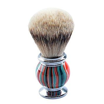 CSB Resin Handle with silvertip Badger Hair Barber Shaving Brush for Shaving