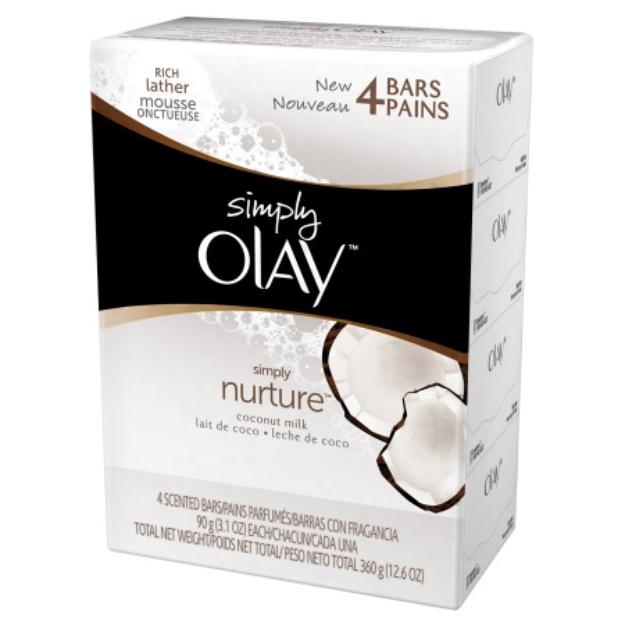 Olay Simply Nurture Coconut Milk Beauty Bars