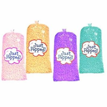 Just Popped Easter Spring Purple Blue, Yellow and Pink Colored Party Popcorn 4-Pack (72 Cups per Case)