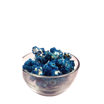 Just Popped Bulk Blue Colored Party Popcorn 175 Cups