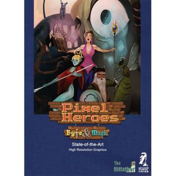 Merge Games Pixel Heroes: Byte; Magic (PC) (Digital Download)