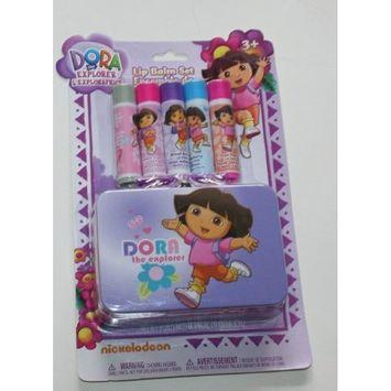 Dora the Explorer Lip Balm Set with Collector Tin