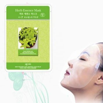 Natural Beauty Herb Essence Full Face Mask 10 Pcs