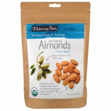 Wilderness Poets, California Almonds, 8 oz (pack of 4)