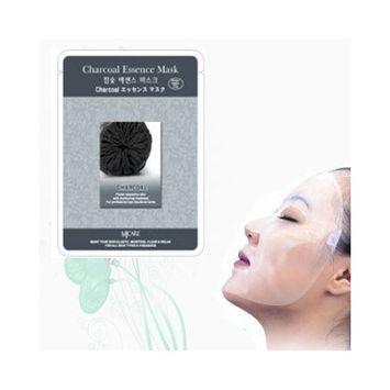 Natural Beauty Charcoal Essence Full Face Mask 10 Pcs