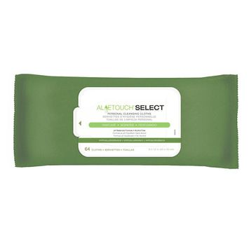 Aloetouch SELECT Premium Spunlace Personal Cleansing Wipes