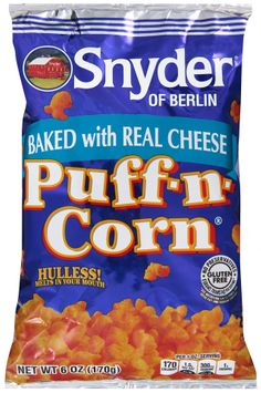 snyder of berlin® cheese puff-n-corn®