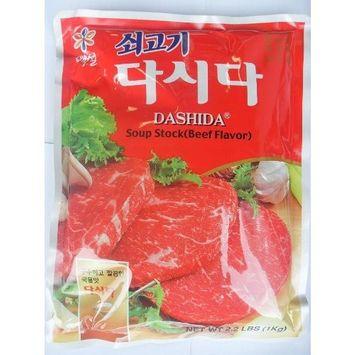 CJ Dashida Soup Stock Beef Flavor 2.2LBS (1KG)