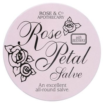 Rose And Co Rose Petal Salve An Excellent All Round Salve With Beeswax 20g
