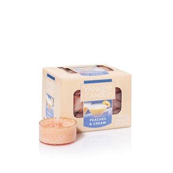Yankee Candle Peaches & Cream 12 Tea Lights