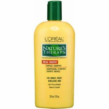 Natural Therapy Mega Strength Unfrizz Shampoo 12 oz. (Pack of 6)