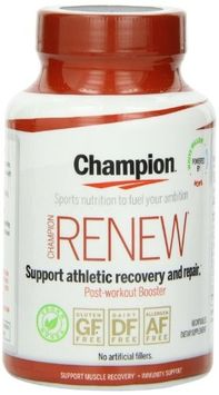 Champion Naturals - Renew Post-Workout Booster - 60 Vegetarian Capsules