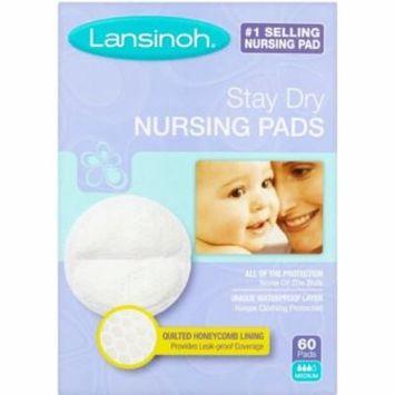 4 Pack - Lansinoh Nursing Pads Stay Dry 60 Each
