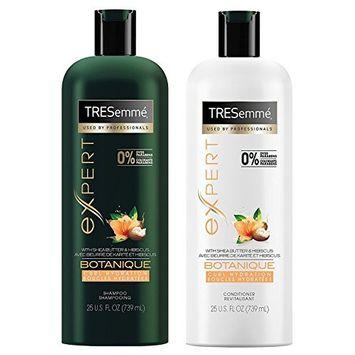 Tresemme Expert Haircare - Botanique - Curl Hydration - Shampoo & Conditioner Set - Net Wt. 25 FL OZ (739 mL) Per Bottle - One Set