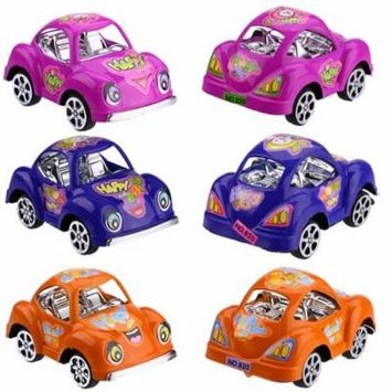 DZT1968 Funny Pull back Toy Baby Cute Car Model Toy Baby Filed Gift For Kids