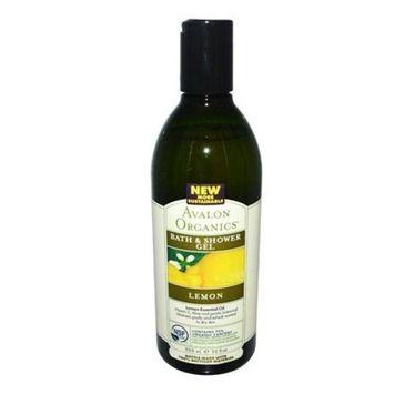 Avalon - Avalon Organics Bath And Shower Gel Lemon - 12 Fl Oz - Pack Of 1