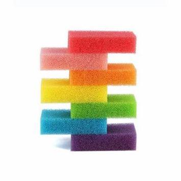DZT1968 iLH 07 pcs Colorful Cleaning Sponges Scrubbers Pack Dishwashing Sponges