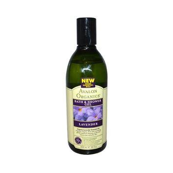 Avalon Organics Bath and Shower Gel Lavender - 12 fl oz Avalon Organics Bath and Shower Gel Lavende