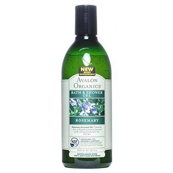 (2 Pack) - Avalon - Rosemary Bath & Shower Gel | 350ml | 2 PACK BUNDLE by Avalon : Beauty