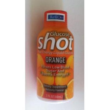 ReliOn Glucose Shot Orange (2oz Single Bottle)