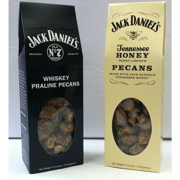 1- 5 0z. Each Jack Daniel's Whisky and Tennessee Honey Pecans