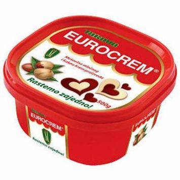 Eurocrem Hazelnut Milk and Cocoa Spread 500g