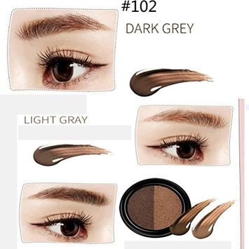 Eyebrow Dye Cream ,DEESEE(TM) Quick Dry Waterproof Stained Eyebrow Beautifully Emphasized Eyebrow Tint Paste