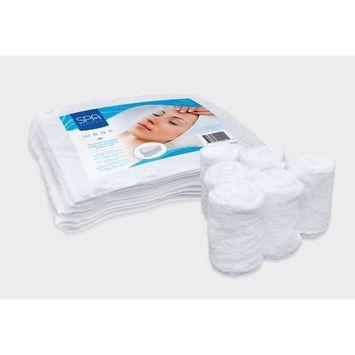 Spa Simplu White Wrap Towels - Pkg of 6