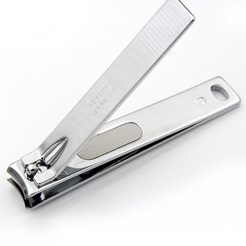 Large nail clippers for thick nails with file Carbon steel Fingernail and Toenail Clipper
