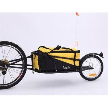 Sepnine 8002T-Yellow Bicycle Cargo Trailer Yellow
