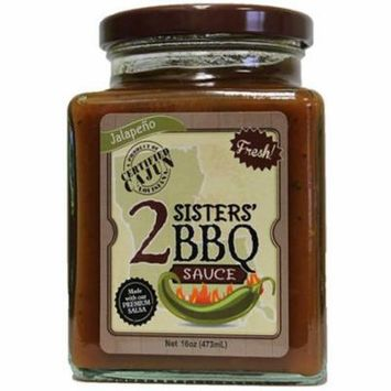 2 Sisters' Salsa Company Jalapeno BBQ Sauce, 3 pack