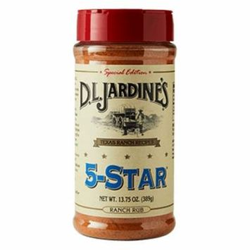 D. L. Jardines 5-Star Ranch Rub, 13.75 oz (2-pack)