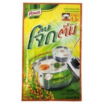 Knorr Instant Rice Porridge Pork 70g. (Pack of 3)
