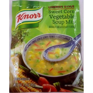 Knorr Sweet Corn Vegetable Soup Mix - 47g, 1.6oz. (Pack of 5)