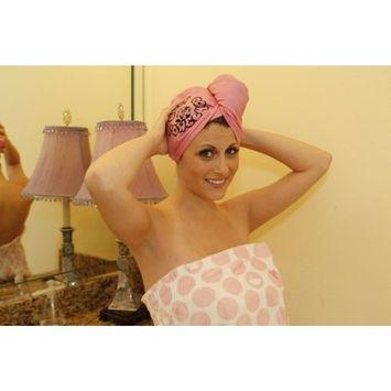 Hair Towel Wrap: Holy Cow Towel, #1 Fast Drying Hair Towel