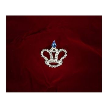 Sunnywood 3245 1-.88 Rhinestone Pin - Crown
