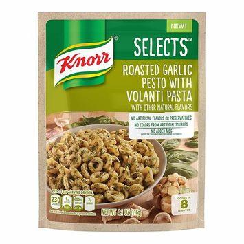 Knorr Selects Pasta Side Dish, Roasted Garlic Pesto with Volanti Pasta, 4.1 oz