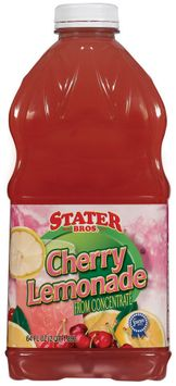 Stater bros Cherry from Concentrate Lemonade