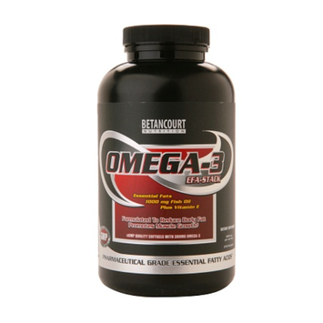 Betancourt Nutrition Omega-3 EFA-Stack 1000mg Fish Oil plus Vitamin E