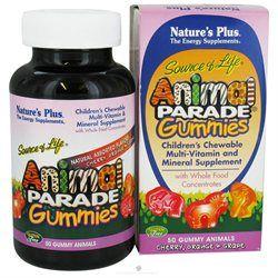 Nature's Plus - Animal Parade Gummies Assorted - 50 Gummies