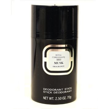 Royal Copenhagen Musk By Royal Copenhagen For Men. Deodorant Stick 2.5 Oz / 70 G