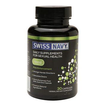 Swiss Navy Hard Male Enhancement, 30 ea
