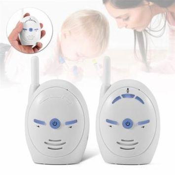 Wireless Digital Portable Baby Monitor,2.4GHz Digital Audio Baby Monitor Sensitive Transmission Voice Two Way Talk