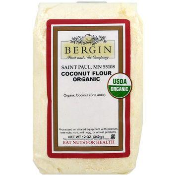 Bergin Fruit and Nut Company, Organic Coconut Flour, 12 oz (340 g)