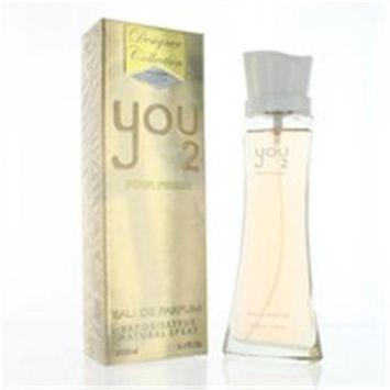 Designer Collection ZZWYOU23.4EDPSPR 3.4 oz Womens You 2 Eau De Parfum Spray