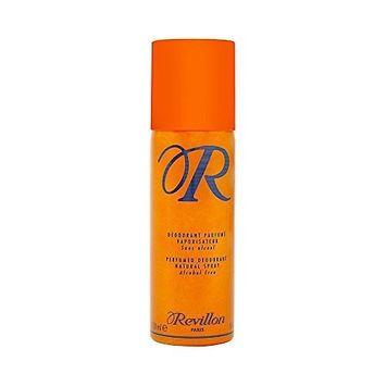 Revillon R De Alcohol-Free Perfumed Deodorant Spray for Men, 5 Ounce by Revillon
