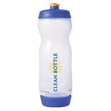 Clean Bottle 22 oz (White/Blue)