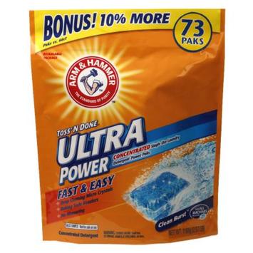 ARM & HAMMER™ Arm & Hammer Ultra Power Paks Laundry Detergent Clean Burst