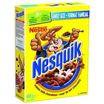 Nesquik Chocolatey Cereal, 600 Gram (Imported from Canada)