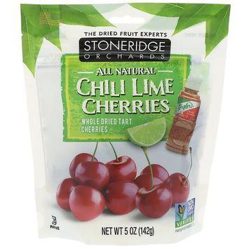 Stoneridge Orchards, Chili Lime Cherries, 5 oz (142 g) [Flavor : Chili Lime with Tajin]